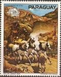 Sellos de America - Paraguay -  Centenario de la UPU