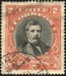 Sellos del Mundo : America : Chile : Domingo Santa Maria González. Abogado y político chileno. Presidente de Chile.