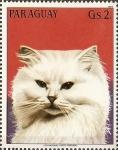 Sellos de America - Paraguay -  Gatos