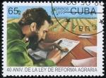 Sellos del Mundo : America : Cuba : Ley de reforma agraria