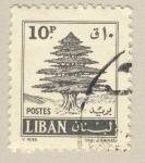 Sellos del Mundo : Asia : Líbano : cedro libanes