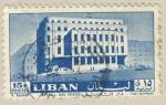 Sellos de Asia - Líbano -  Hotel des postes