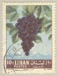 Sellos del Mundo : Asia : Líbano : razimo de uva