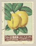 Sellos del Mundo : Asia : Líbano : manzana