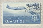 Sellos del Mundo : Asia : Kuwait : avion y barcos