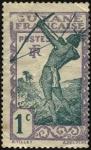 Sellos del Mundo : America : Guayana_Francesa : Arquero caribeño. Guyana Francesa.