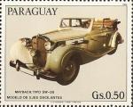 Sellos de America - Paraguay -  Autos Maybach