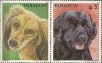 Sellos de America - Paraguay -  Perros de raza