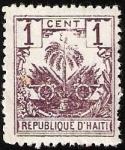 Sellos del Mundo : America : Haití : ESCUDO DE ARMAS