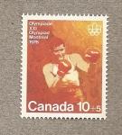 Sellos de America - Canadá -  Juegos Olímpicos Montreal, Boxeo