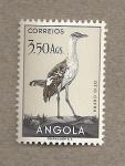 Sellos del Mundo : Africa : Angola : Ave Otis cafra