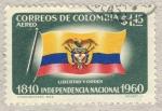 Sellos del Mundo : America : Colombia : 1810-1960 independencia nacional
