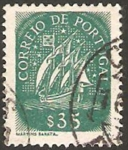 Sellos de Europa - Portugal -  carabela