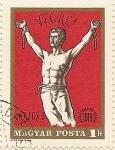 Sellos de Europa - Hungría -  VEGRE! 1919