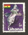 Sellos del Mundo : Africa : Ghana : fauna, ave