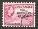Sellos del Mundo : Africa : Ghana : mina de manganeso