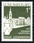 Sellos del Mundo : Europa : Luxemburgo : LUXEMBURGO: Ciudad de Luxemburgo: barrios antiguos y fortificaciones