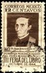 Sellos del Mundo : America : México : Juan Ignacio Maria De Castorena Ursúa Y Goyeneche. Periodista mexicano fundador del primer periódico
