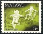 Sellos del Mundo : Africa : Malawi : Arte rupestre de Chongoni