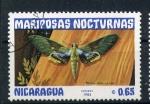 Sellos de America - Nicaragua -  serie- Mariposas nocturnas