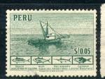 Sellos del Mundo : America : Perú : Industria Pesquera