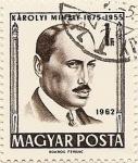 Sellos de Europa - Hungría -  KAROLYI MIHALY 1875-1955
