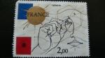 Sellos del Mundo : Europa : Francia : Geometría