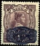 Sellos del Mundo : America : México : Josefa Ortiz de Domínguez 1768 – 1829. Fue participante de la conspiración de Querétaro. 1910 1 cent