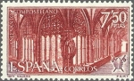 Sellos de Europa - España -  ESPAÑA 1971 2050 Sello Nuevo Año Santo Compostelano Claustro Sta. Mª La Real Najera Yv1703