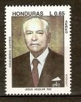 Sellos del Mundo : America : Honduras : JESUS  AGUILAR  PAZ