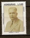 Sellos del Mundo : America : Honduras : AUGUSTO  C.  COELLO