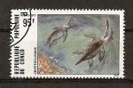Sellos de Africa - República del Congo -  Dinosaurios.