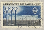 Sellos de Europa - Francia -  Inauguration de l'aéroport de Paris-Orly
