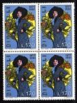 Sellos de Europa - Italia -  1977 Personajes:100 Anv.  Dina Galli