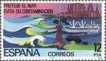 Sellos de Europa - España -  ESPAÑA 1978 2472 Sello Nuevo Proteccion de la Naturaleza Proteccion de los Mares c/señal charnela