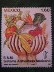 Sellos del Mundo : America : México : Sistema alimentario mexicano