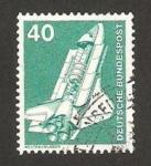 Sellos de Europa - Alemania -  699 - Laboratorio espacial