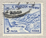 Sellos del Mundo : Asia : Pakistán : rio