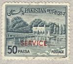 Sellos de Asia - Pakistán -  embalse