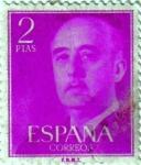 Sellos del Mundo : Europa : España : General Franco 1955