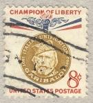 Sellos de America - Estados Unidos -  Champion of Liberty  Garibaldi