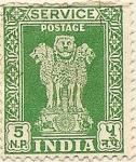 Sellos de Asia - India -  INDIA