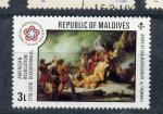 Sellos del Mundo : Asia : Maldivas : Bicentenario de la revolución americana