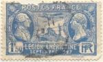Sellos del Mundo : Europa : Francia : Legion Americaine