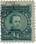 Sellos de America - Argentina -  Correos y telégrafos. República de Argentina