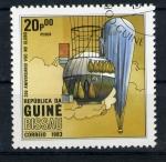 Sellos del Mundo : Africa : Guinea_Bissau : 200 años del vuelo en globo