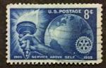 Sellos del Mundo : America : Estados_Unidos : Rotary
