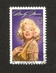 Sellos del Mundo : America : Estados_Unidos : Marilyn Monroe, actriz de cine