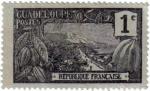 Sellos del Mundo : America : Guadeloupe : Paisaje de Guadeloupe. República Francesa