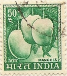 Sellos del Mundo : Asia : India : MANGOES